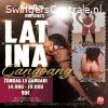 Latina GangBang zondag 13 jan 2019